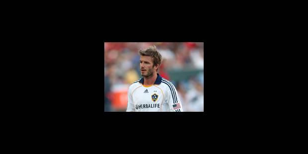 Beckham de retour à l'AC Milan en janvier - La Libre