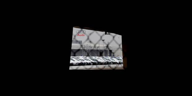 L'usine d'Audi Brussels encore à l'arrêt mercredi