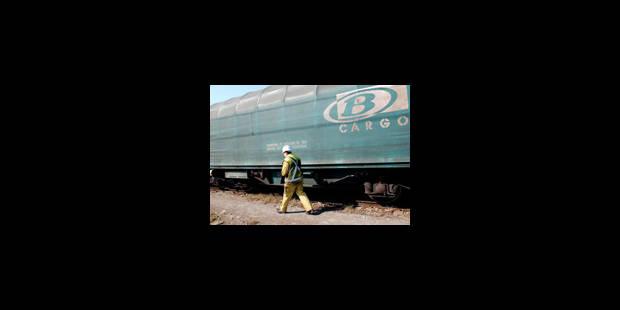 B-Cargo: action de protestation de cheminots jeudi matin à Liège - La Libre