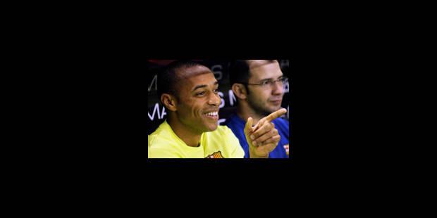 Thierry Henry a pensé à quitter les Bleus - La Libre