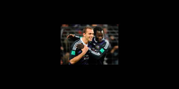 Anderlecht s'impose face à Courtrai - La Libre
