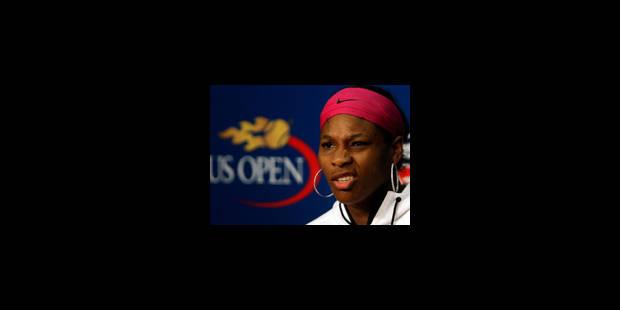 Serena Williams sanctionnée pour avoir insulté une juge - La Libre