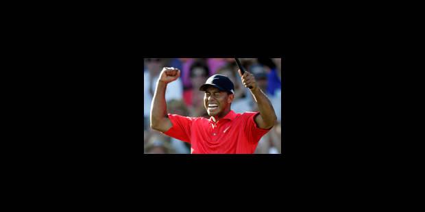 Tiger Woods élu joueur de l'année par ses pairs - La Libre