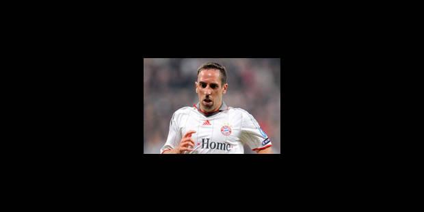 Bayern Munich - Ribéry absent de l'entraînement pour blessure