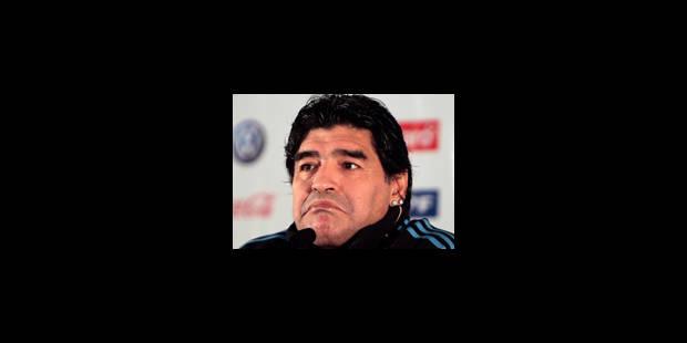 Maradona a des projets de télévision - La Libre