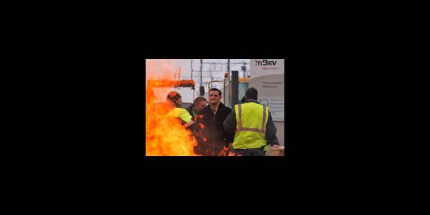 AB InBev: les syndicats bloquent toujours le site de Louvain