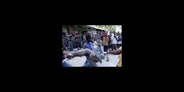 Haïti: les stocks alimentaires du PAM pillés - La Libre