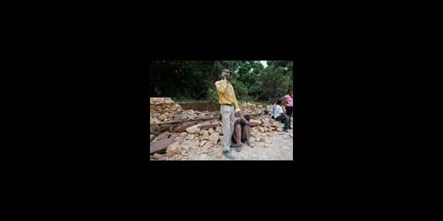 Haïti: entre 40.000 et 50.000 victimes, selon la Croix-Rouge - La Libre