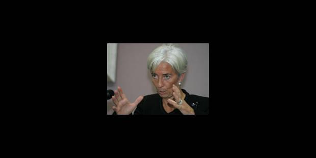 Le credo de Christine Lagarde - La Libre