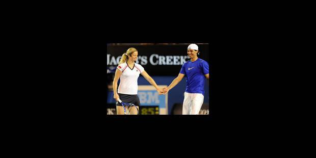 Le tennis fait parler son coeur pour Haïti - La Libre