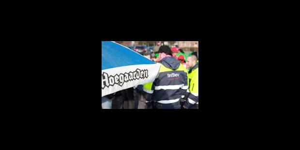 AB InBev: blocages levés à Louvain et Hoegaarden