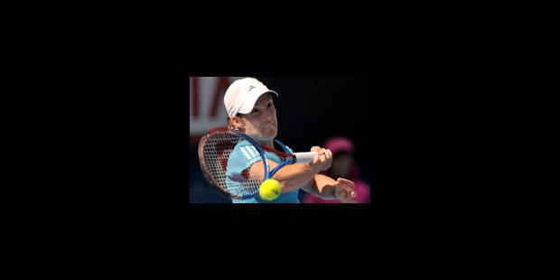 Justine Henin expéditive, qualifiée pour la finale - La Libre