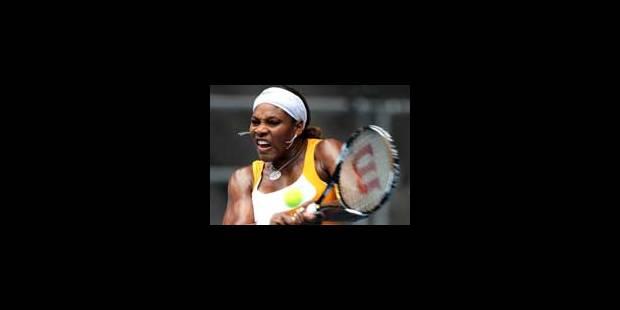 Serena Williams ravie des retours de Kim et Justine - La Libre