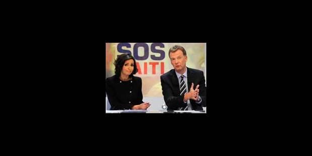 """""""Sos Haïti"""" a attiré 626.800 téléspectateurs - La Libre"""