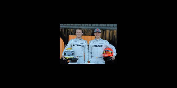 Michael Schumacher a effectué ses premiers tours de roues - La Libre