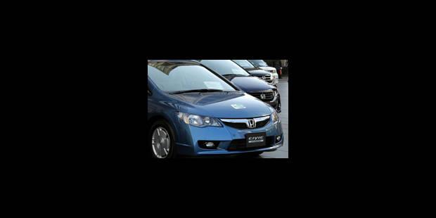 Honda: 437.763 rappels dans le monde - La Libre