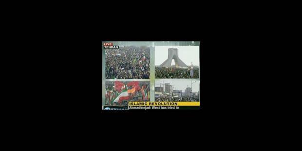 Des dizaines de milliers de manifestants à Téhéran - La Libre