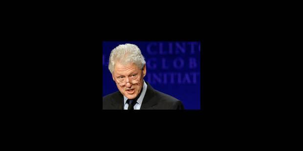 Bill Clinton devrait sortir aujourd'hui de l'hôpital - La Libre