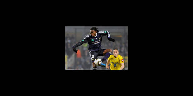 Anderlecht: Entame de match cruciale