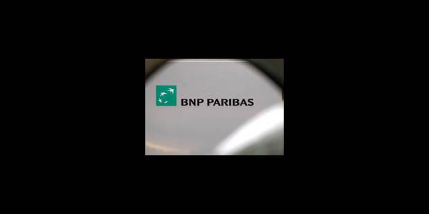BNP Paribas: l'Etat belge reçoit 192 millions d'euros - La Libre