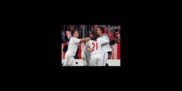 Arsenal battu, le Bayern l'emporte à l'arraché (Vidéo) - La Libre