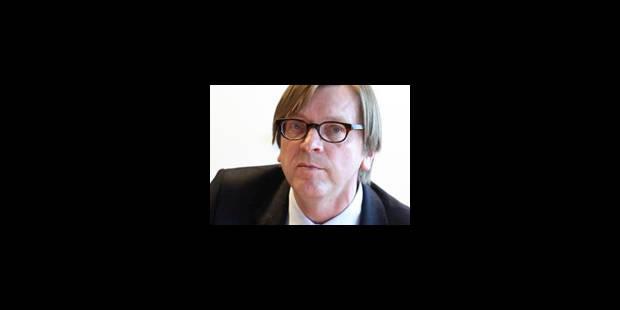 """Verhofstadt : """"quelque chose de pourri"""" en France - La Libre"""