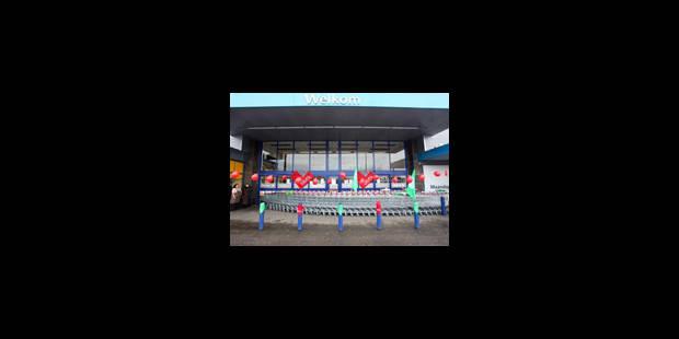 Carrefour: petite manifestation en marge du conseil d'entreprise extraordinaire - La Libre