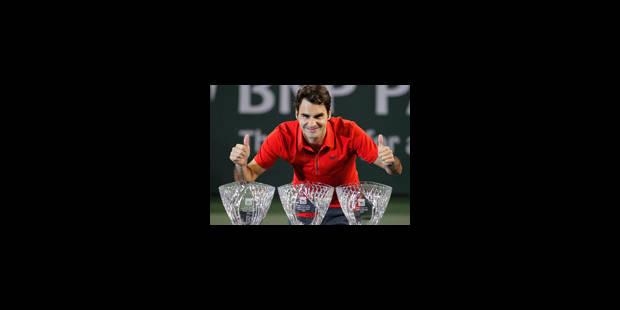 Federer passe son premier obstacle en concédant un set - La Libre