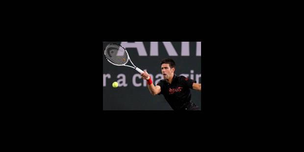 Djokovic en 8e de finale en sauvant trois balles de match - La Libre