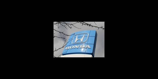 USA : Honda rappelle 412.000 voitures pour problème de freinage - La Libre