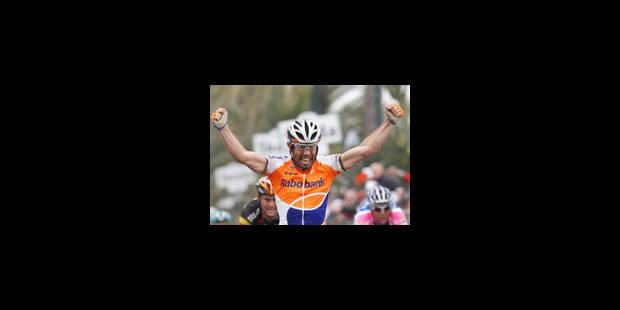 Boonen échoue dans la roue de Freire - La Libre