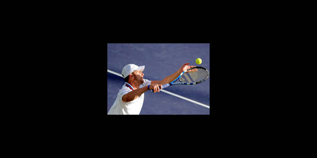 Andy Roddick en finale contre Ivan Ljubicic - La Libre