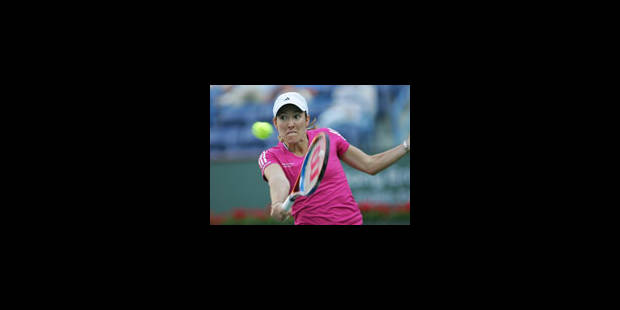 Justine Henin réintègre le classement WTA en 33e position - La Libre