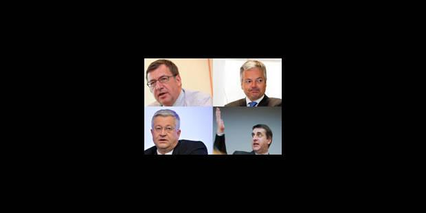 Vanackere/Vanhengel versus Reynders/Maingain - La Libre