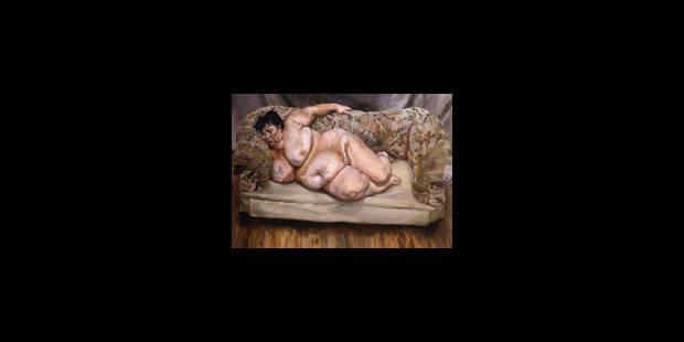 Avec Lucian Freud, la peinture se fait Chair - La Libre