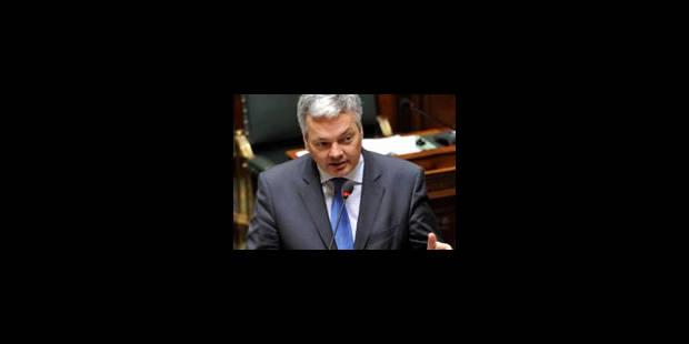 Reynders rejette l'idée d'un Fonds monétaire européen - La Libre