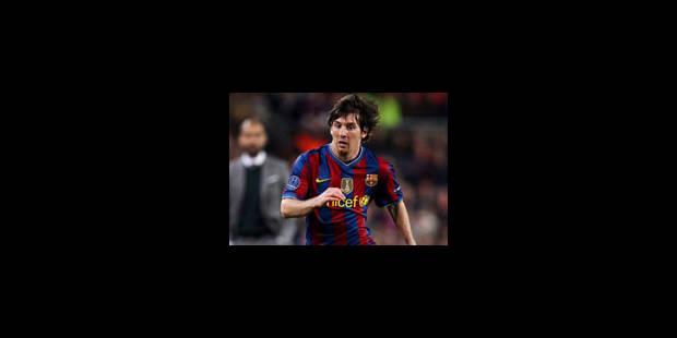 Messi: La terre à ses pieds