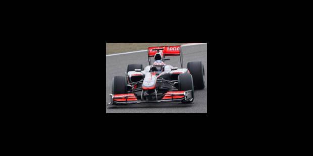 Victoire de Jenson Button (McLaren) au Grand Prix de Chine - La Libre