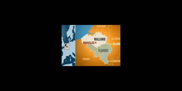La carte de la Belgique redessinée par TF1 (VIDEO) - La Libre