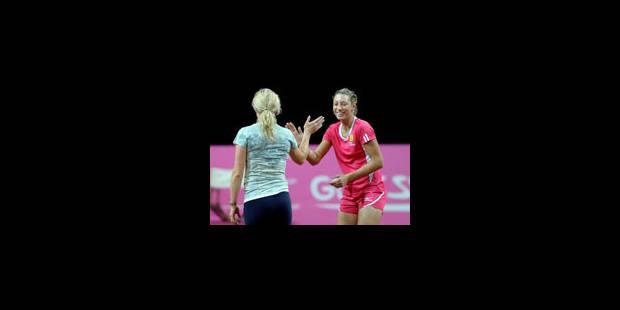 Clijsters et Wickmayer joueront les simples en Estonie - La Libre
