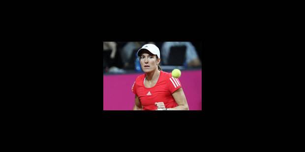WTA Stuttgart - Justine Henin face à Julia Görges au 1er tour - La Libre