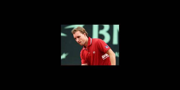 ATP Nice: Steve Darcis sorti au 1er tour - La Libre