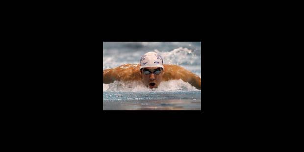 Michael Phelps éliminé sur 50 m libre samedi à Charlotte - La Libre