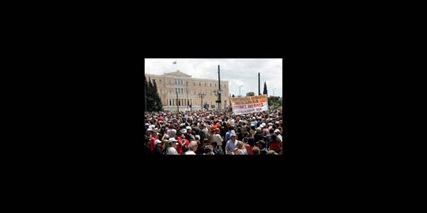 Grèce: nouvelle grève générale et manifestations contre la rigueur (vidéo) - La Libre