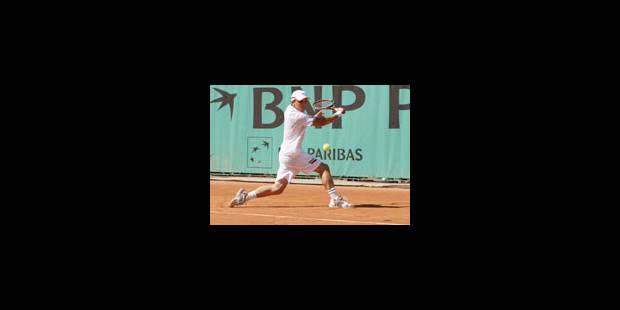Roland-Garros : Darcis bat Vliegen dans le duel belgo-belge