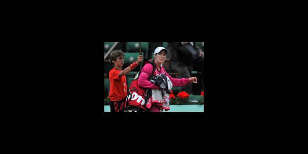 Justine Henin qualifiée pour le troisième tour - La Libre