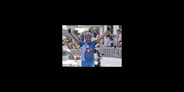 20e étape: victoire du grimpeur suisse Johann Tschopp - La Libre