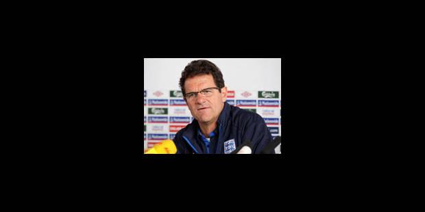 Fabio Capello restera le sélectionneur de l'Angleterre jusqu'en 2012 - La Libre