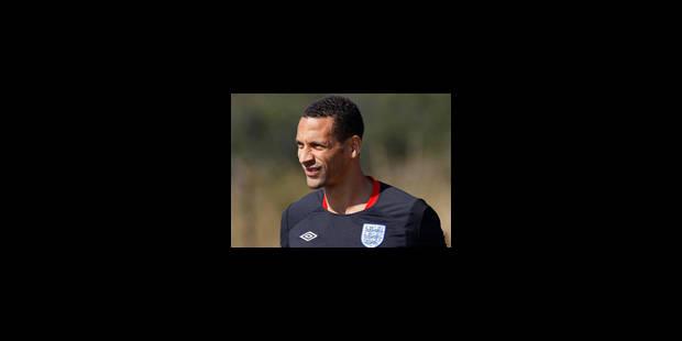 L'Anglais Rio Ferdinand blessé au genou gauche - La Libre