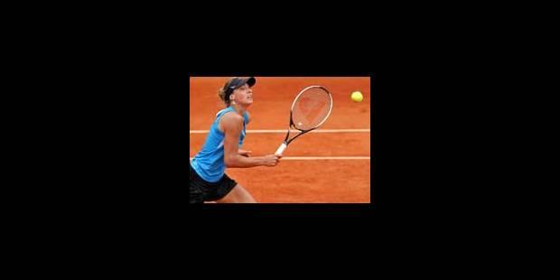 Yanina Wickmayer face à Tanasugarn en 8es de finale à Birmingham - La Libre